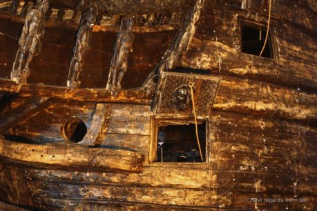 The Vasa ship, Stockholm, Sweden