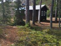 High Coast trail stugas: Tärnättsundet Stuga