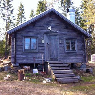 High Coast trail stugas: Norrsvedgebodarna Stuga
