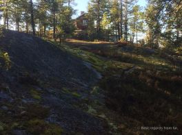 High Coast trail stugas: Askjaberget Rastuga