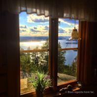 View from the Valkallen stuga, Sweden