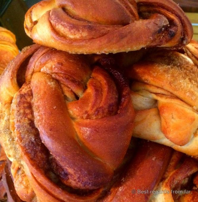 Kanelbullar, the delicious cinnamon sweet, Sweden