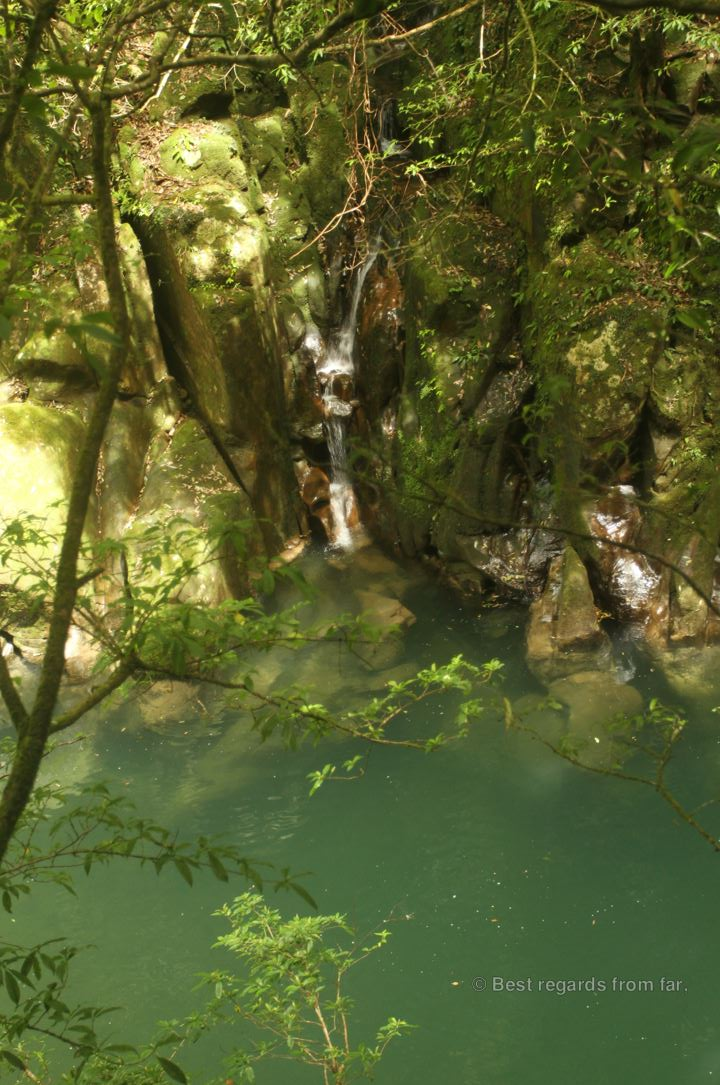 One of the swimming holes in the Kaeda valley, Japan.