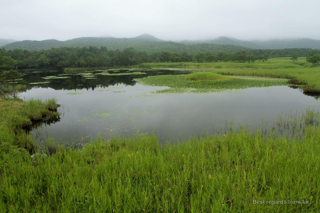 One of the five lakes on the Shiretoko Peninsula, Hokkaido.
