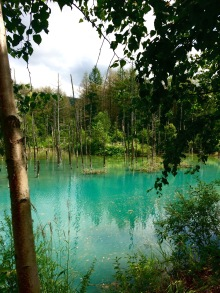 The Blue pond