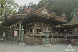Japanese temple in Kompira-san, Shikoku.