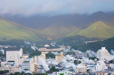 The smokes of Beppu