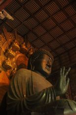 15-m high Daibutsu in Todai-ji, Nara