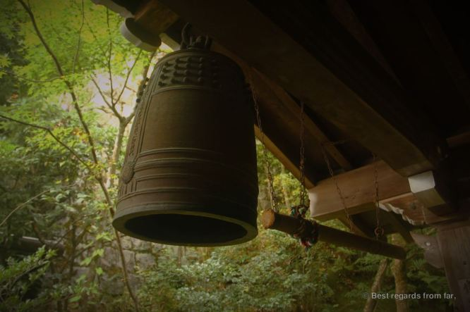 The bell of Eikan-do