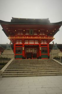 Fushimi Inari Taisha entrance of the main shrine