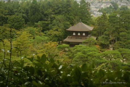 Ginkaku-Ji, a serene temple on the edge of a modern city