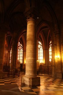 Interior of the Notre Dame de Paris