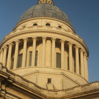 Panthéon, where the great men are buried