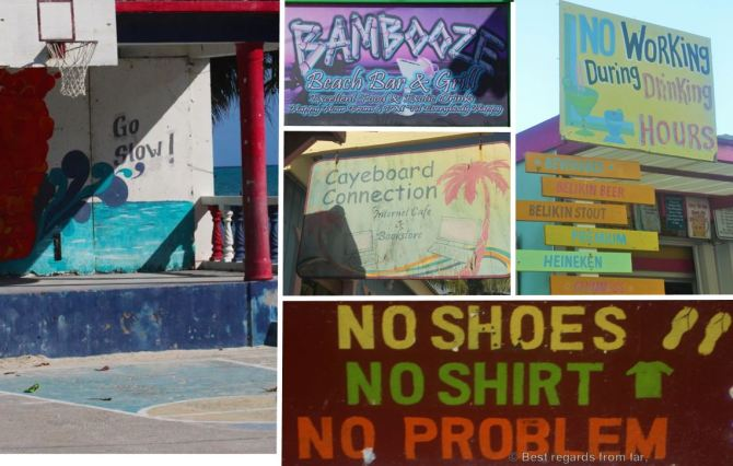 Belize-Caye Caulker humour