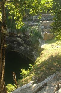 The Cenote Sagrado another sacrificial landmark of Chichén Itza, Mexico.