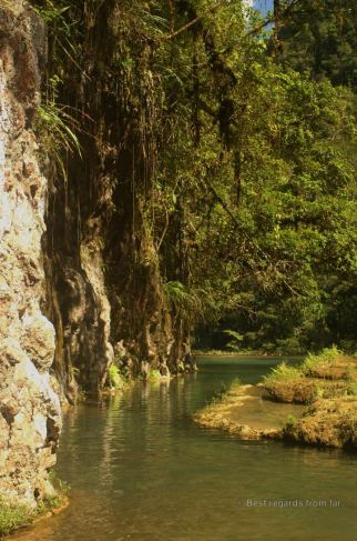 The stunning setting of Semuc Champey