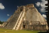 The pyramid of the magician, Uxmal, Mexico