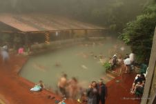 The healing sulphur waters of Fuentes Georginas, Guatemala