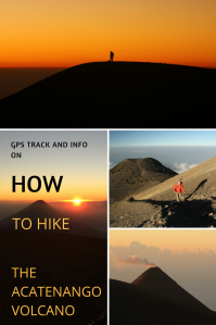How to hike the Acatenango Volcano - Pinterest - Pin