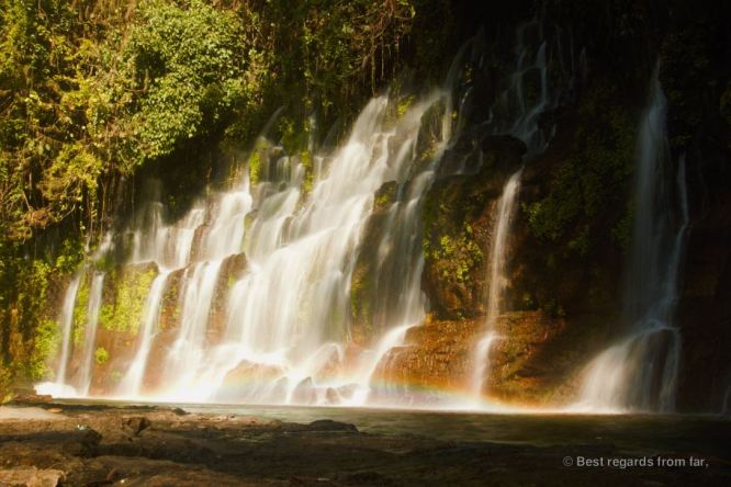 The waterfalls of Chorros de la Calera, El Salvador