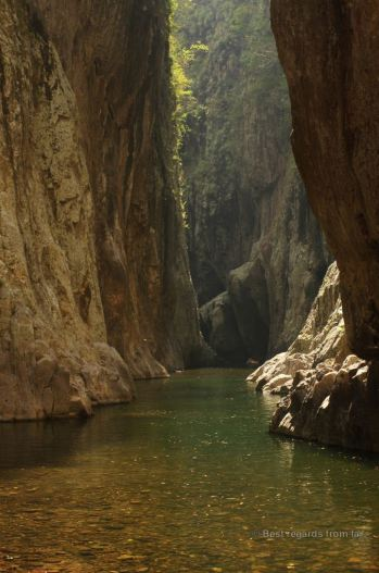 The Somoto Canyon, Nicaragua, where walking turns into swimming