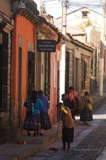 New Year's day in Quetzaltenango, Guatemala