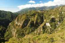 Mountain views on the hike to Lake Atitlan, Guatemala