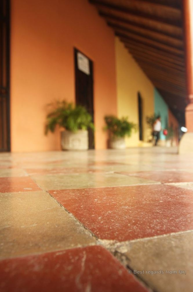 Colourful façades of colonial houses, Granada, Nicaragua