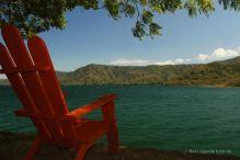 The crater lake of Laguna de Apoyo, Nicaragua: a perfect swim!