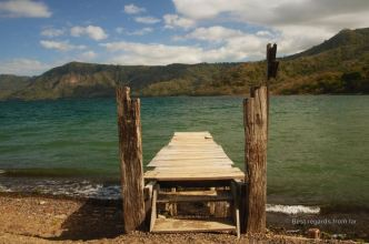 The crater lake of Laguna de Apoyo, Nicaragua: a perfect swim!