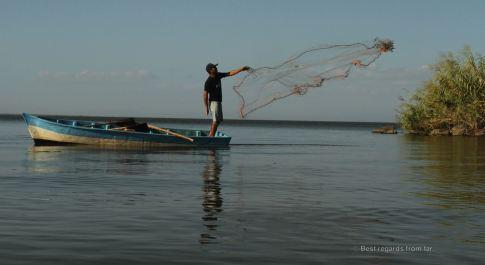 A community of fishermen inhabits the islets of Granada, Nicaragua