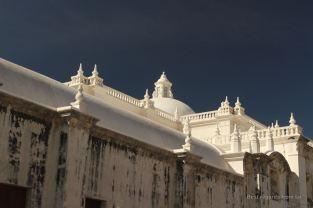 Roof of the cathedral de la Asuncion, Leon, Nicaragua