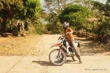 Motorbiking Ometepe island, Nicaragua