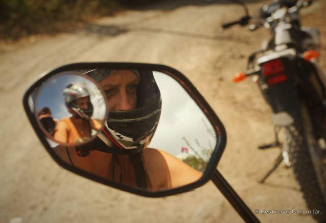 Focused! Motorbiking the Ometepe island, Nicaragua