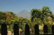 Concepcion volcano seen from Finca Magdalena, Ometepe island, Nicaragua