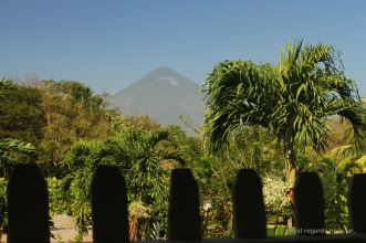 Concepcion volcano seen from Finca Magdalena, Ometepe island, Nicaragua