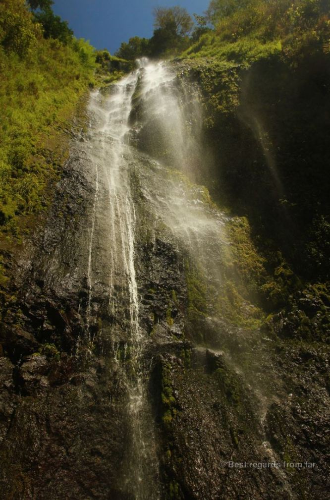 The San Ramon waterfall, Ometepe island, Nicaragua