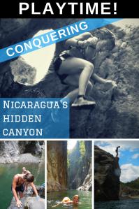 Somoto Canyon Nicaragua PIN