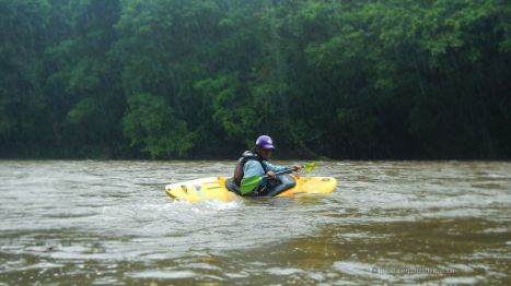 Kayaking the Sarapiqui river!