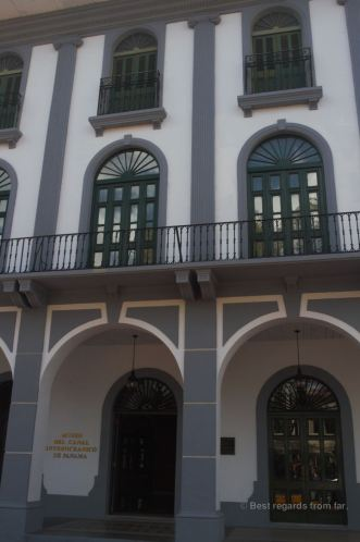 The museum of the canal in Casco Viejo, Panama