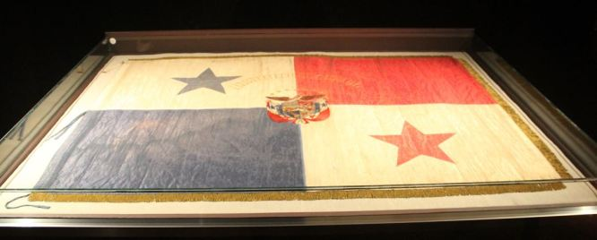 This flag of Panama is a symbol and was the starting point to lead to the Torrijos-Carter treaty