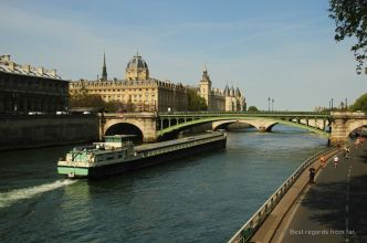 The Seine River banks have recently been converted into parks
