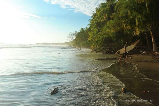 Uvita's hidden beach, Costa Rica