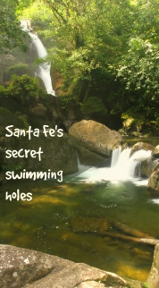 Exploring Santa Fe's secret swimming holes, Panama