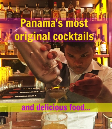 Panama's most original cocktails and delicious food at Las Clementinas, Panama