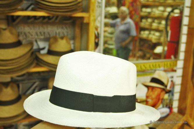 The original Panama hat