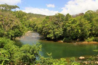 Enjoying the stunning swimming holes of Santa Fé, Panama