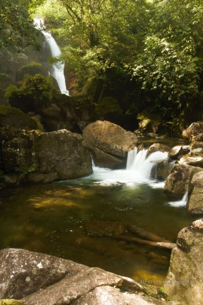 Stunning swimming hole of Santa Fé, Panama