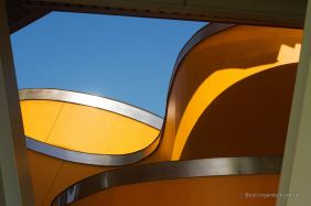 Details of the Biomuseo by Frank Gehry, Panama City