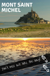 Hike the bay - Mont Saint Michel - Pinterest- Pin